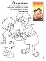 Jeux bibliques pour les enfants, Coloriage biblique - Alliance Biblique Française