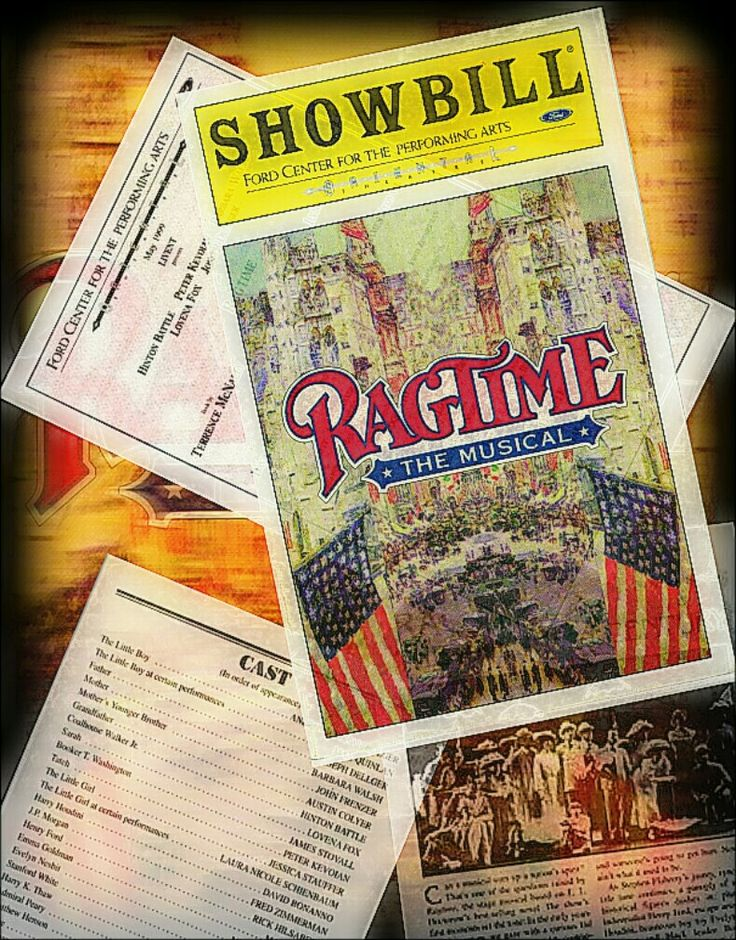 """Chicago Premiere of the Stephen Flaherty and Lynn Ahrens musical """"Ragtime"""" ... Long-Term Production / non-touring ... November 8, 1998 - June 27, 1999 ... Hinton Battle was among the original Chicago Cast ((along with Max Quinlan, who played Marius in a touring production of Les Misérables i saw years later)) ... for the last few months of this production, Stephanie Mills joined the cast."""