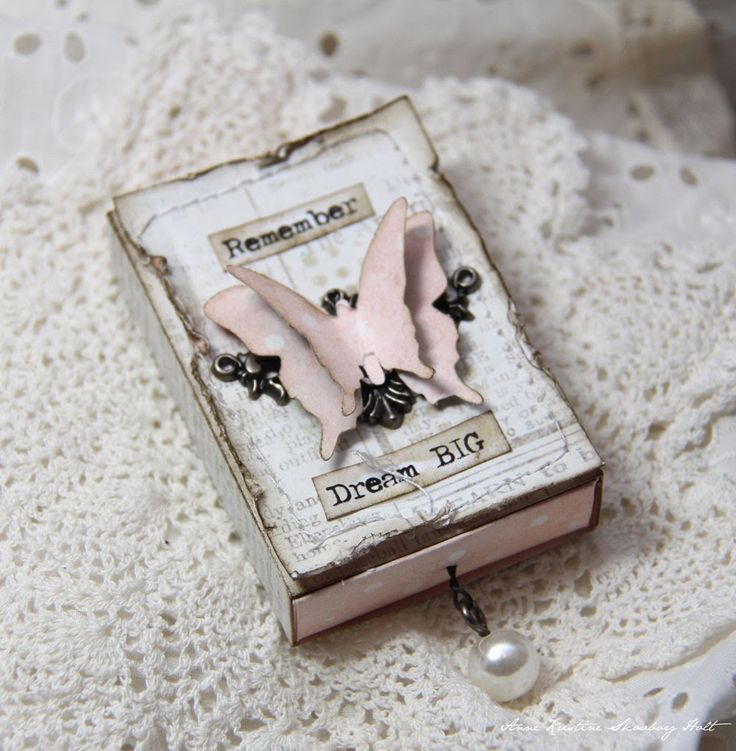 Crafting ideas from Sizzix UK: Boxes Anne Holt Matchbox