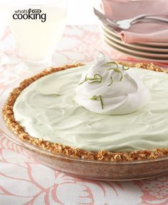 Key Lime Margarita Pie #recipe