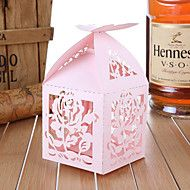 Favor Holder Non-personalised Cubic Floral Theme ... – USD $ 5.99