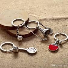 Risultati immagini per golf key chain leather