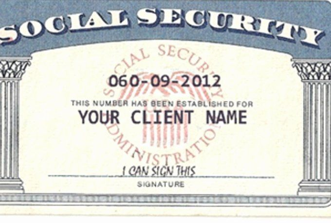 Social Security Card Template Photoshop Best Of This Is Ssn Card Usa Psd Shop Template This Gildenlow In 2020 Social Security Card Card Template Templates