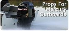 Mercury 2.5 HP 1990 & Newer Outboard Propellers