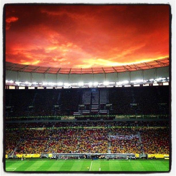 Estádio Nacional de Brasília Mané Garrincha in Brasília, DF