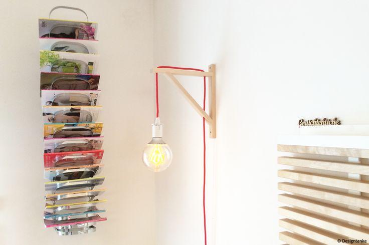 Designtanke // DIY IKEA HACK DESIGNERLAMPE aus einer Ikea Konsole für unter 25 € in nicht mal 15 Minuten!