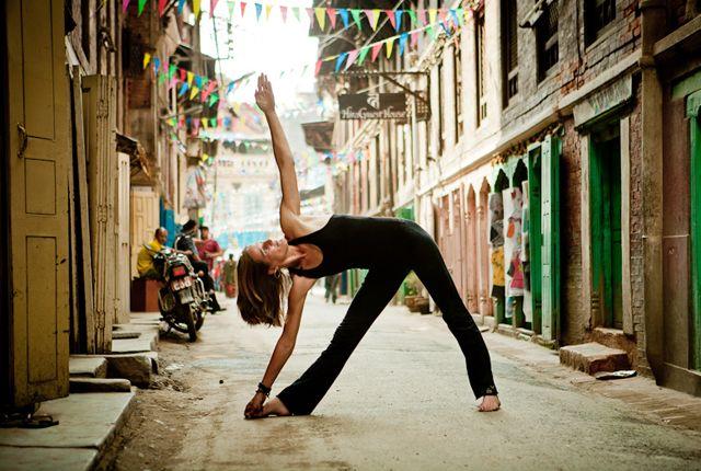 Maybe some yoga while in Kathmandu?