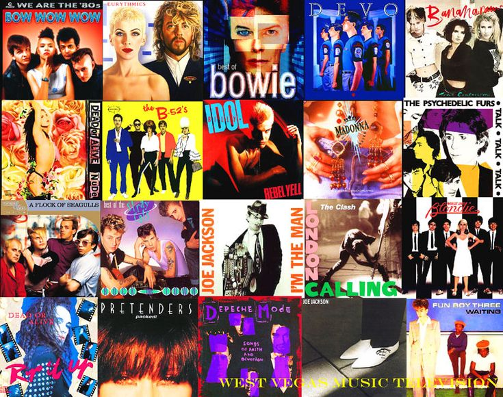 80s New Wave / Alternative music