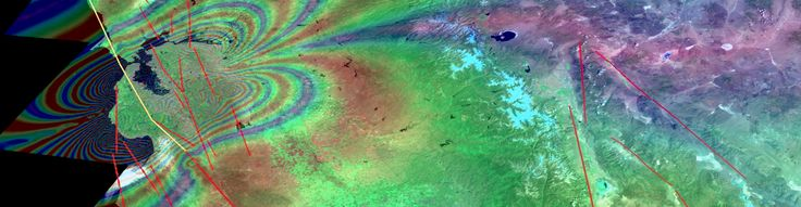 Imaging active tectonics with InSAR and LiDAR GETSI module for advanced undergraduate courses.  Students use LiDAR and InSAR data to understand the earthquake cycle, from individual earthquakes to landscape-forming timescales. #UNAVCO #free #Education #Module #GPS #geodesy #college  #activity #undergraduate #LessonPlan #data