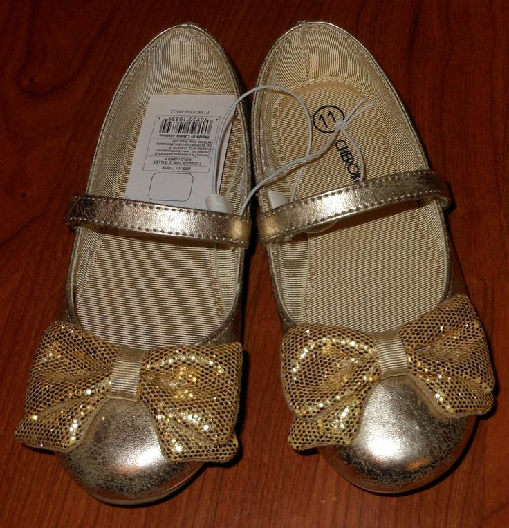 Cherokee Toddler Girl Size 8 Gold Dress Shoes- Target ...
