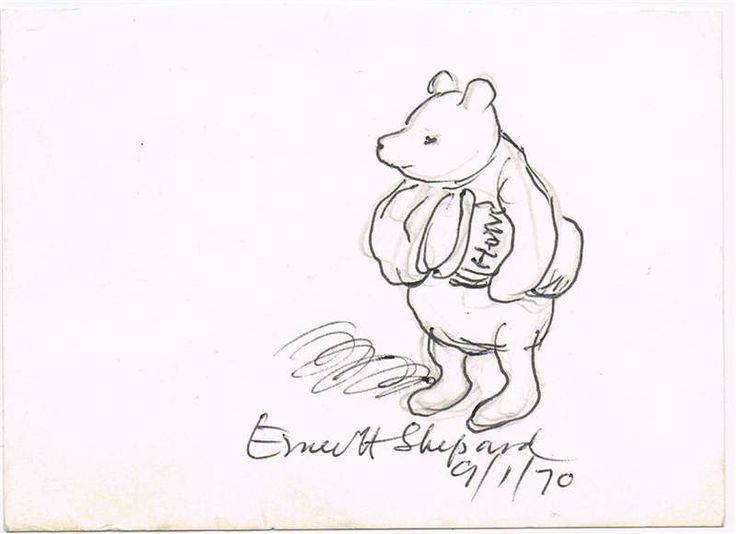 Výsledek obrázku pro e h shepard winnie the pooh illustrations