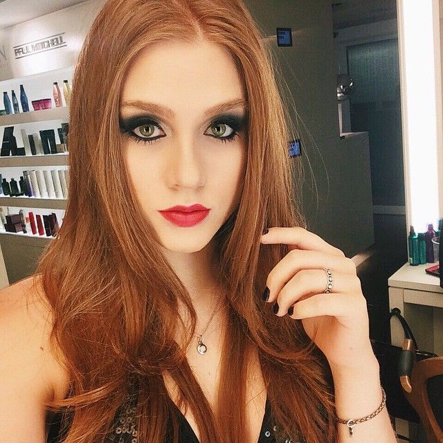Flavia Charallo #Sexiest100 #HotSexyModels #Top50GingeRedHeads #SexyRedHeadModels #FlaviaCharallo