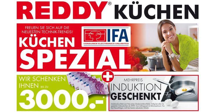 Good Wir schenken Dir bis zu Euro den Mehrpreis eines Induktionskochfelds f r Deine neue REDDY K che