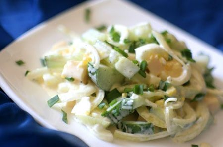 Салаты из сыра и яиц рецепт с фото