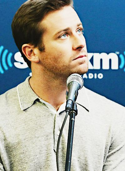 Armie Hammer face of an angel