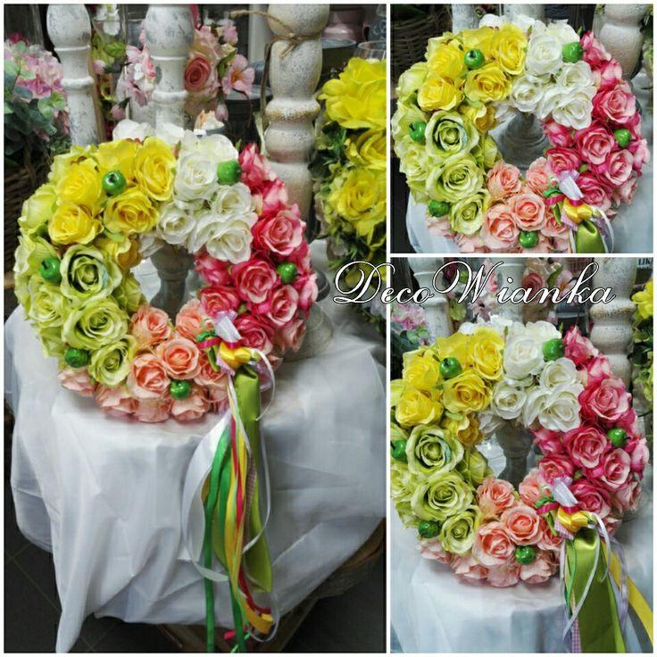 Wianek,wianki,wianek wiosenny,stroik,kompozycja kwiatowa