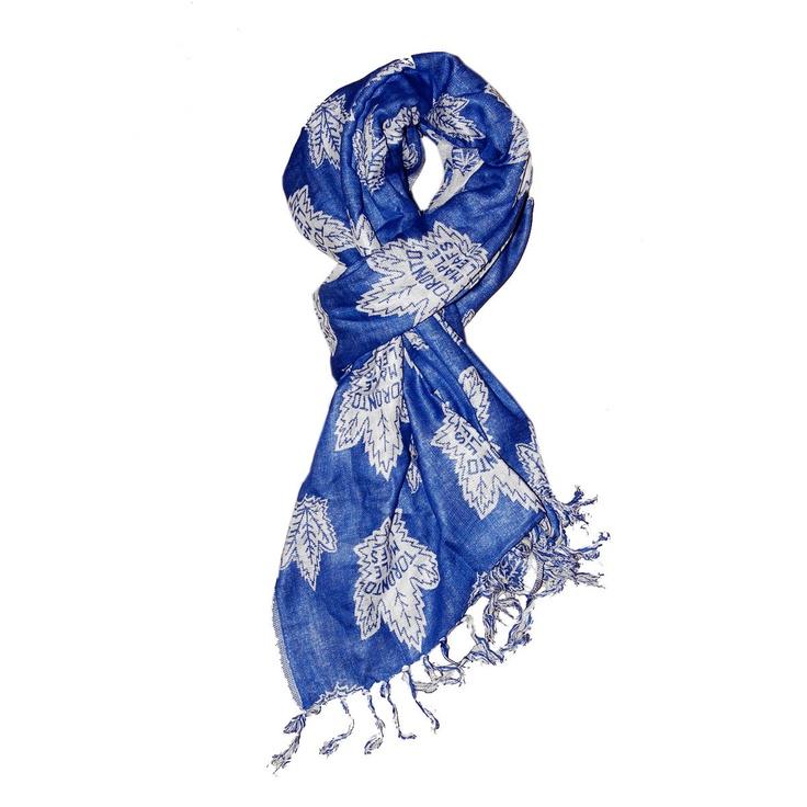 Toronto maple leafs scarf - I want one!!