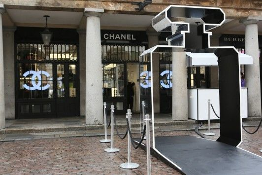"""CHANEL, The Market Building, Covent Garden, London, UK, """"Re-discover Chanel No 5 Event"""", pinned by Ton van der Veer"""