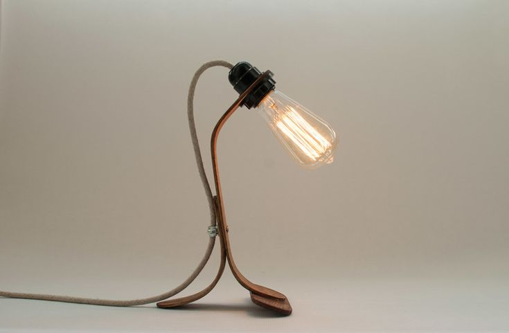 ST Vintage bedside table lamp by Oitenta made in Spain on CROWDYHOUSE