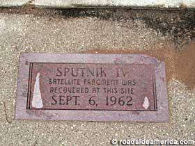 Sputnik Crashed Here - 45 min away in Manitowoc! Who knew?
