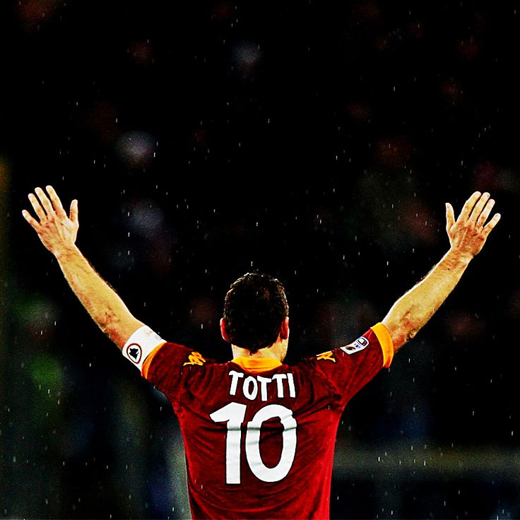 Happy Birthday to AS Roma's Gladiatore, Francesco Totti!