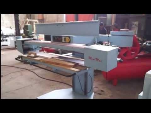 Lijadora de banda Mini Max Maquinas para madera - YouTube