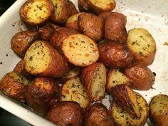 Roseval aardappeltjes uit de oven.
