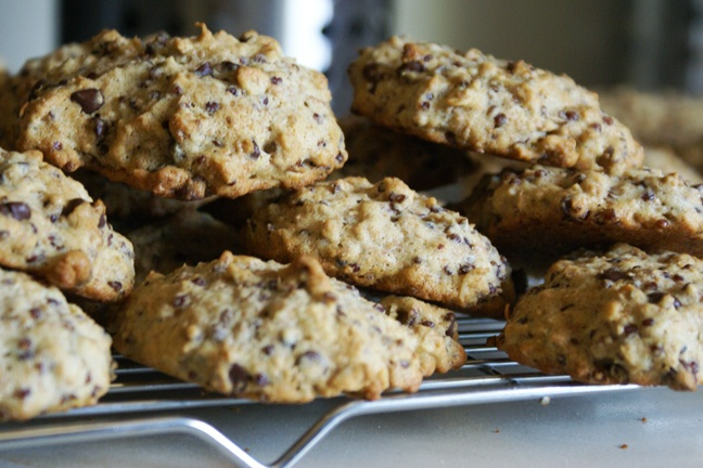Red Quinoa and Walnut (Chocolate Chip) cookies from Heidi Swanson – I swapped chips for walnuts for the kidlets.