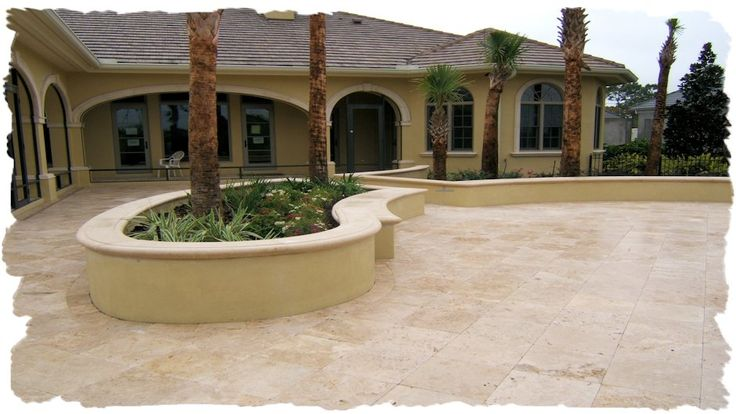 Walkways & Patios- Clay Brick, Pavers,Travertine