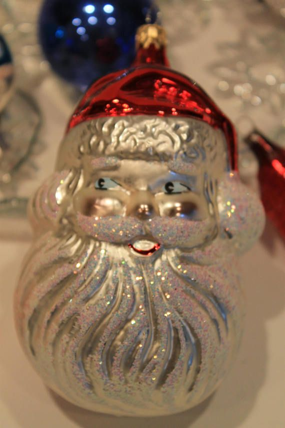 Set of 14 Vintage Mercury Glass Christmas Tree Ornaments  Available on etsy @FunkieFrocks