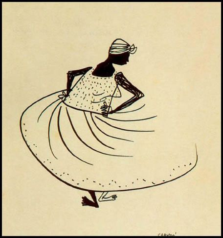Carybé. Bico de pena, 1950, Museu de Arte da Bahia