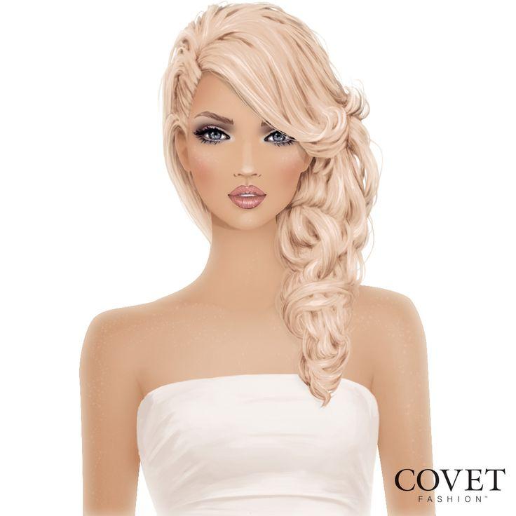 Loving this buttercream hair colour :)