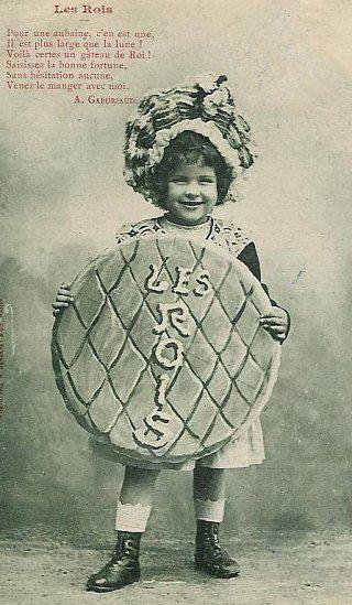 Galette des Rois. Galette des Rois jadis offerte par les boulangers. Gratuité. Etrennes porteuses de pain. Histoire de France. Patrimoine. Magazine