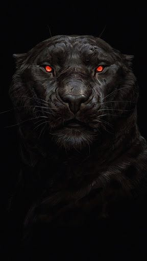 Pin On Mobile Wallpapers Black tiger hd iphone wallpaper