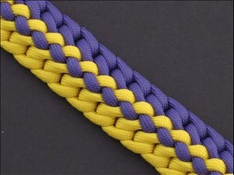 ▶ How to Make the Radiant Zipper Sinnet (Paracord) Bracelet by TIAT - YouTube