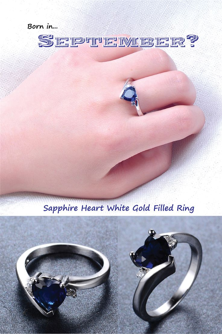 11 best Birthstone Rings images on Pinterest | White gold, Jewel and ...