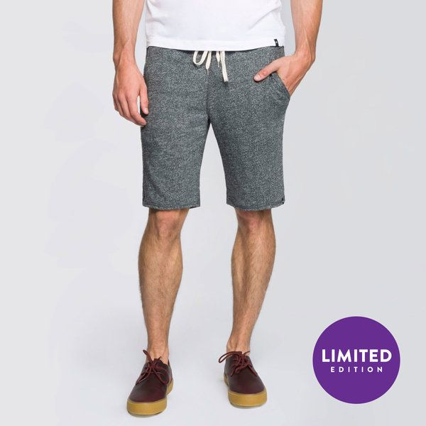 "<p>The French Terry Sweat Short keeps you calm, cool, and collected. This slim fit, knee length silhouette has three pockets and is perfect for all occasions including Sunday errand running.</p>  <p>Explore the complete French Terry Collection <a href=""https://www.meundies.com/t/collections/the-french-terry/"" title=""Title"">here</a> to find the perfect top to pair with these bottoms. </p>  <ul> <li>Super soft, lightweight French Terry in three heathered hues</li> <li>56% Polyester 44%…"