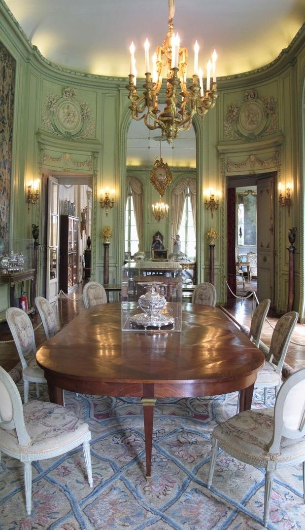 Dining Room Recreating The French Rococo Era