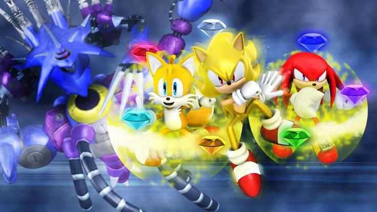 Sonic Heroes Metal Overlord [1920x1080]
