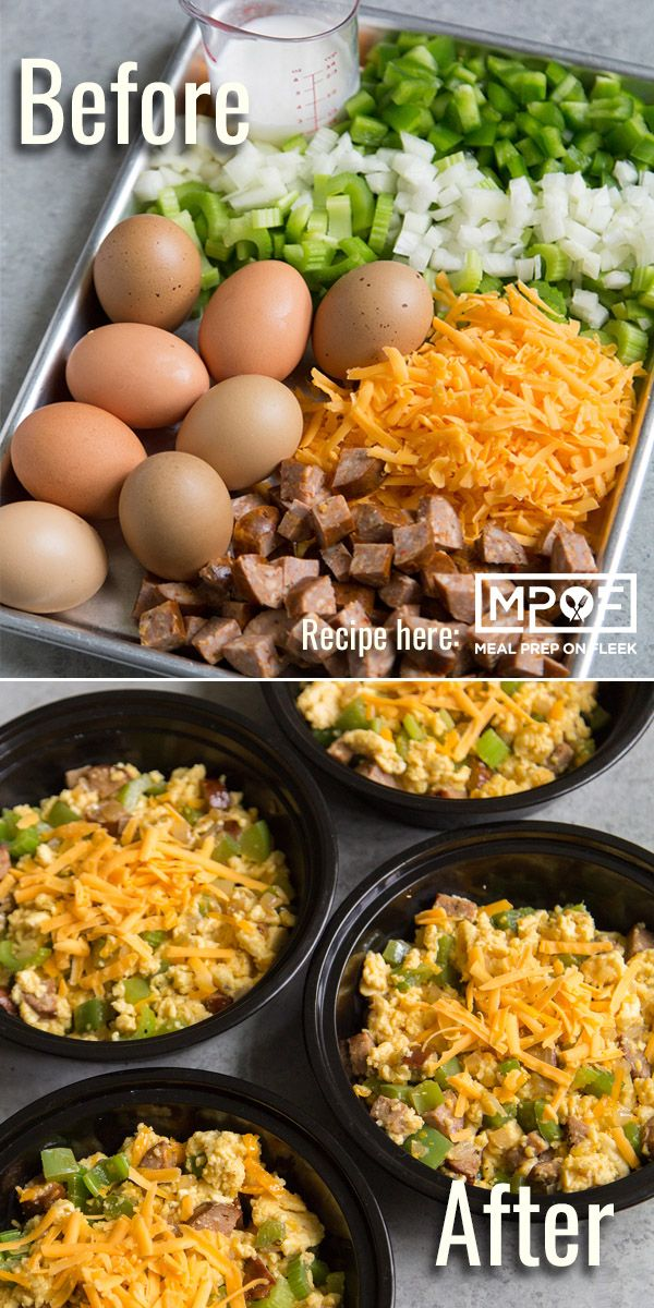 Keto Cajun Sausage Breakfast Scramble | Recipe in 2019 | BREAKFAST Meal Prep Recipes | Pinterest ...