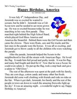 Worksheets 2nd Grade Stories 17 best images about reading passages on pinterest comprehension happy birthday america second grade test use the information in story