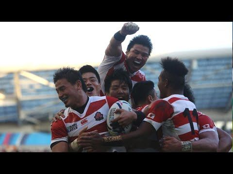 Japan v South Africa 34-32 - Full Match Highlights and Tries - YouTube
