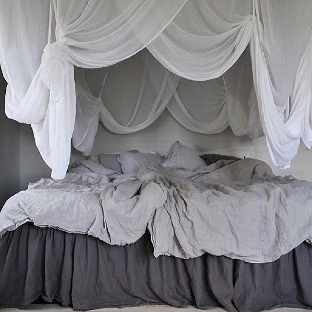 grey bedroom Greige color trend - the perfect neutral color for wall paint - #greige warm grey inspirations on @ITALIANBARK interior design blog   Double tab for more images.  #fortheloveoflinen #linen #bedlinen #tellmemore #interior4all #linenbedding #pureline #purelinenutrition #interiordecor #bedroomdecor #bedroominspiration #handmade #handmadebedding  #tailoredmade #instadaily #greybedroom #greybedding #canopybed