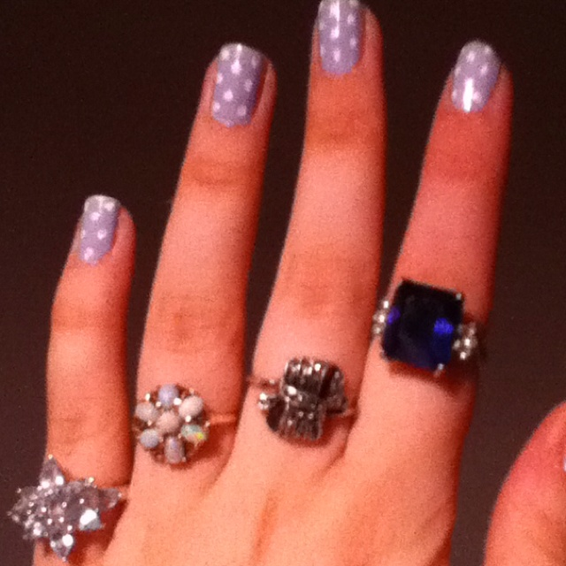 Opal hand me down from mom bow hand me down from mom big blue one from