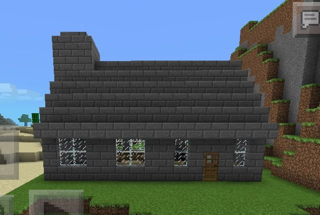 how to build a cobblestone house