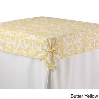 Printed Fitted Tablecloth Topper | Overstock.com Shopping - Great Deals on Table Linens