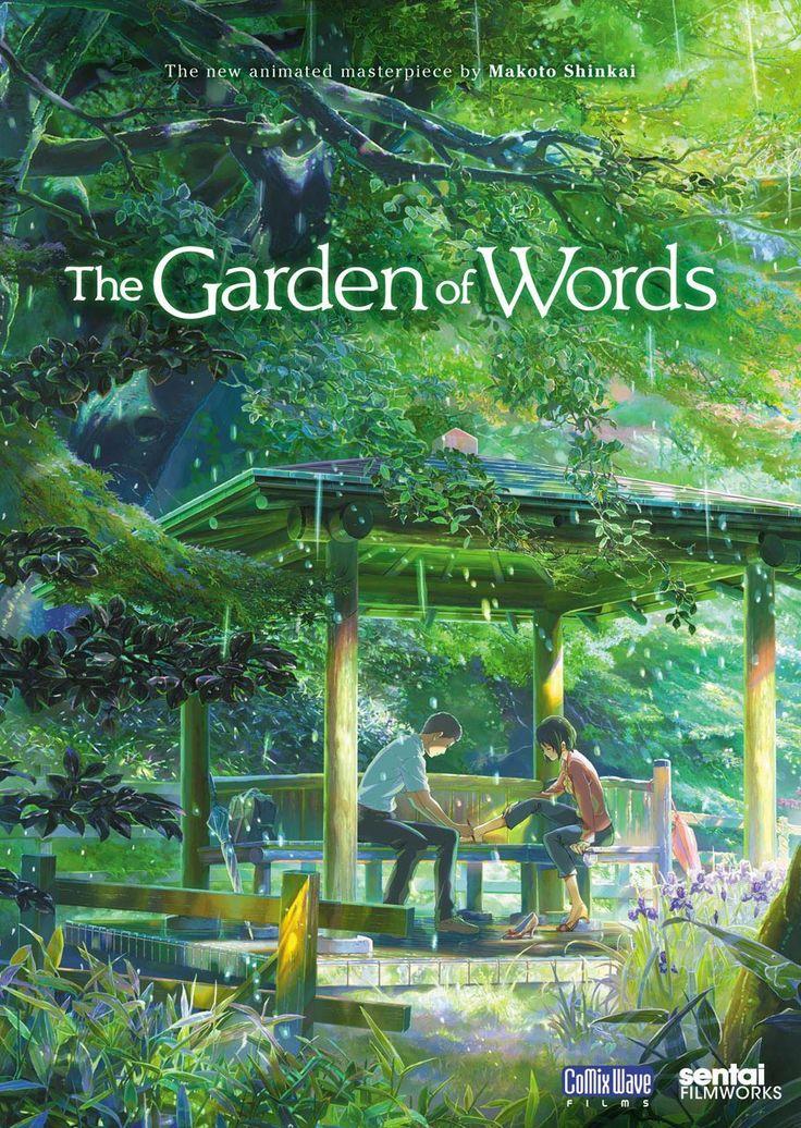 """El Jardin De Las Palabras – Una de las mejores películas de animación """"The Garden of Words"""""""
