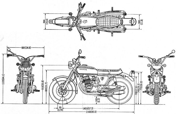 Motorcycle Dimensions