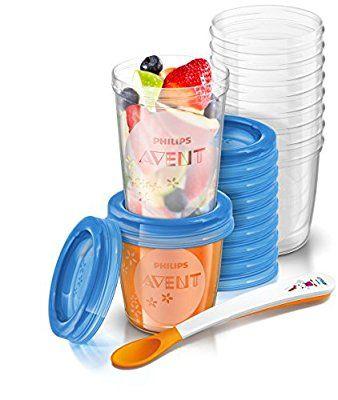 Philips Avent SCF721/20 Aufbewahrungssystem für Babynahrung, 240 ml