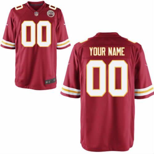 Kansas City Chiefs #0 Youth Red Limited Customized Jersey Nike NFL Jersey (S-XXL) Sale